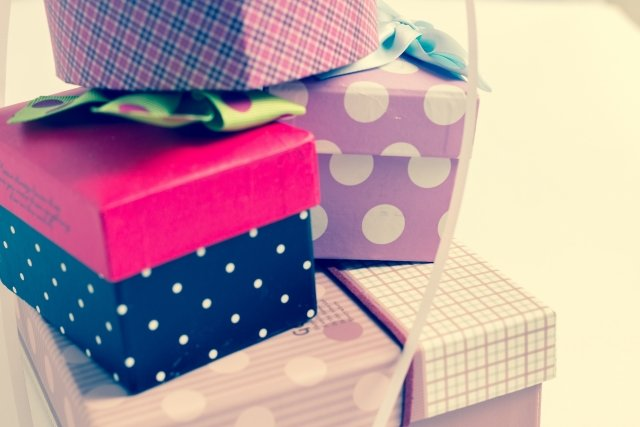 堤信子のお菓子の箱リサイクル