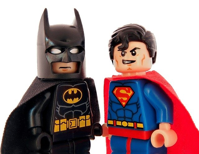ライバル(バットマンとスーパーマン)