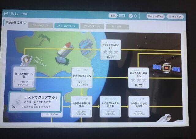 RISU算数ステージ